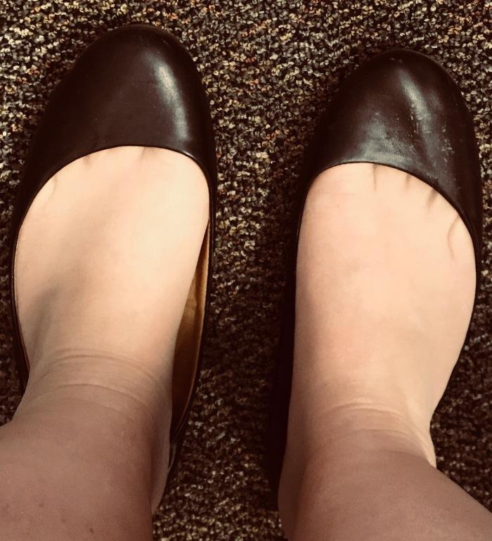My Secretary's Nylons, In BalletFlats