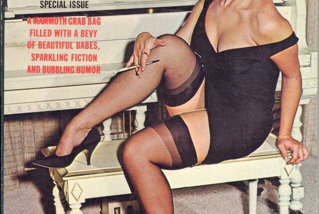 Retro Black Nylons