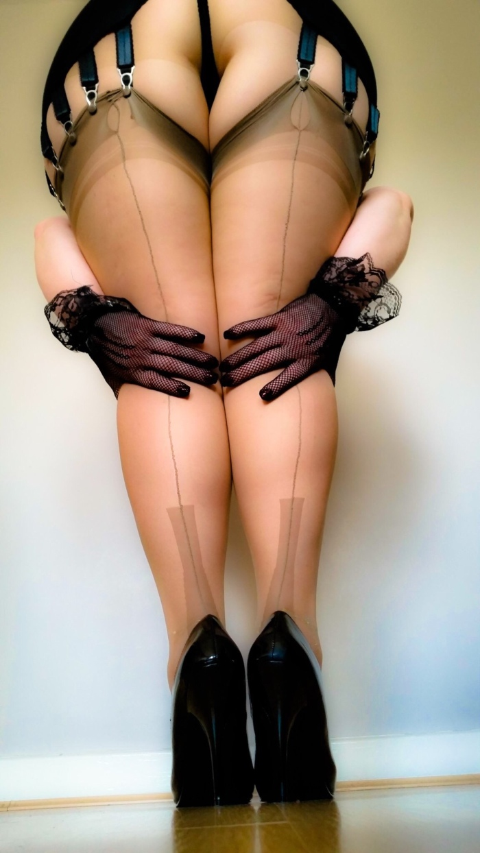 Assume The Position. In Nylons.